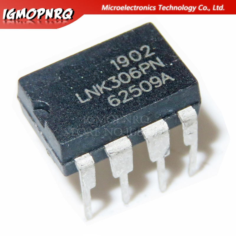 10 pces lnk306pn dip7 lnk306p dip lnk306 novo e original ic