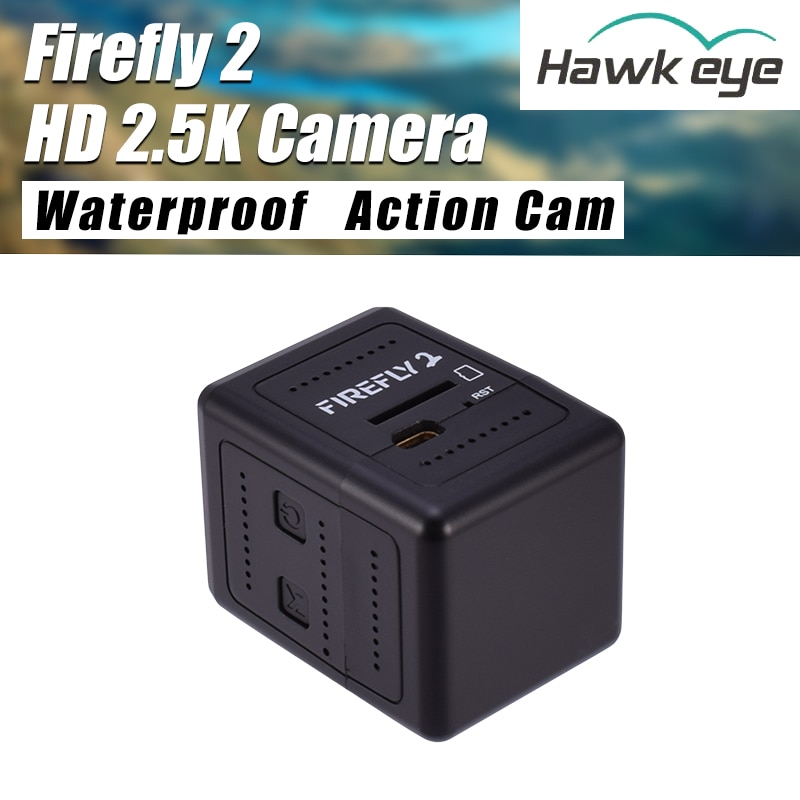 Hawkeye firefly-マイクロアクションカメラ,2ミニfpvカメラ,HD,2.5k,防水,160度,rcレース用,航空写真