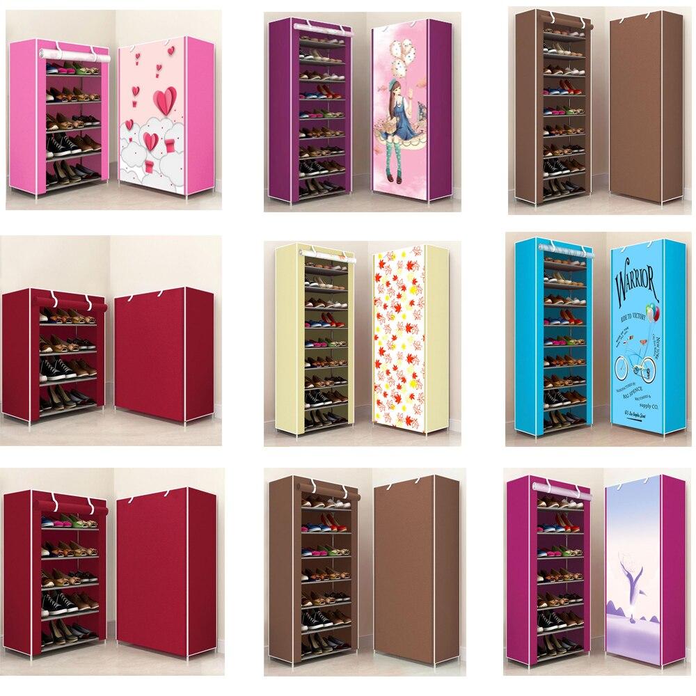 Montagem diy sapato rack shoemaker espaço economia suporte calçado incrível shoerack organizador sala de estar móveis sapatos armazenamento
