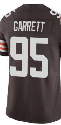 Вышивка на заказ для мужчин, женщин, детей, молодежи, американские Майки Garrett, черные, оранжевые, коричневые, белые футбольные майки