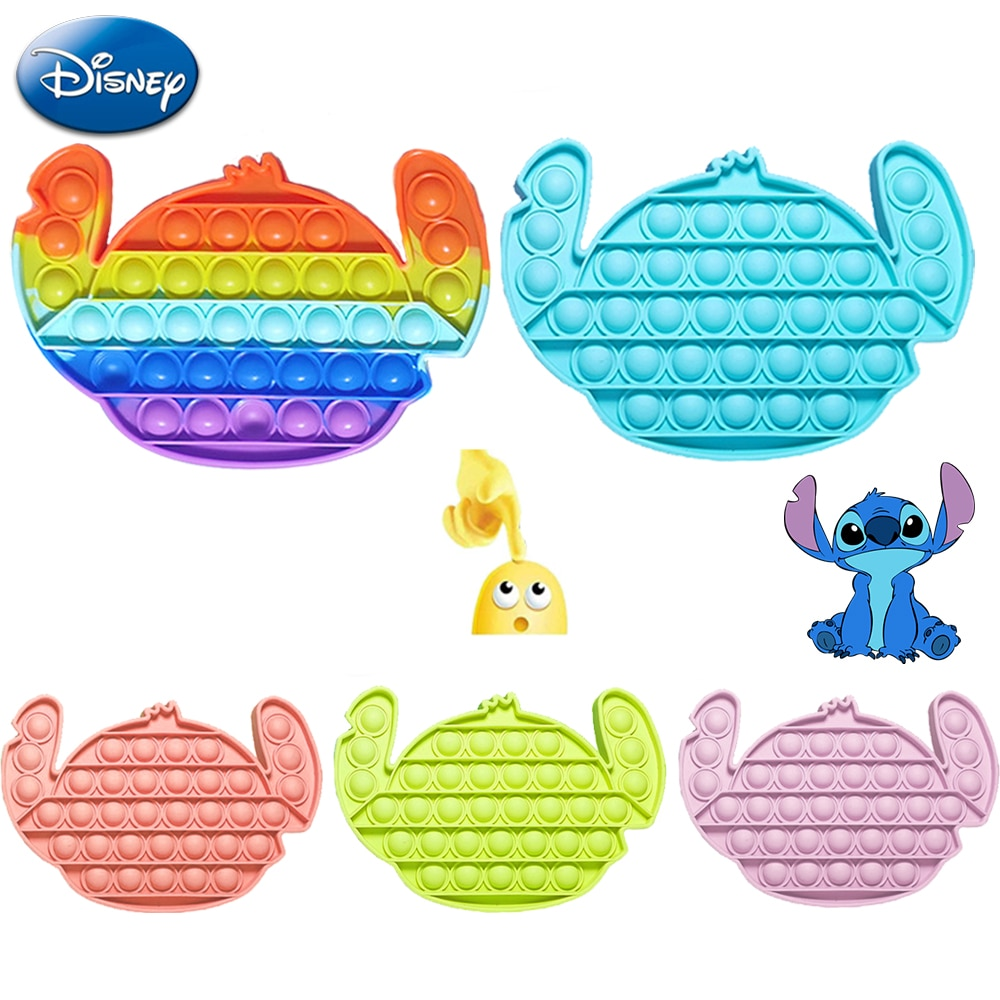AliExpress - Disney Stitch Push Bubble Fidget Antistress Toys Adult Kids Funny Fidget Sensory Toy Autism Special Needs Stress Reliever Gift
