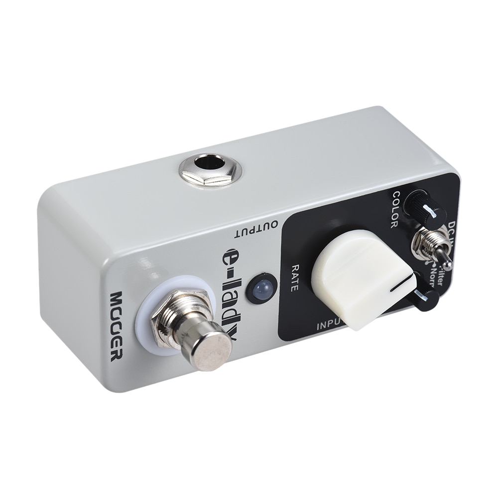 Mooer Guitar Pedal Flanger for Electric Guitar Pedals Mfl2 E-Lady Classic Analog Flanger W Filter Oscillator Musical Synthesizer enlarge