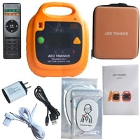 new charging aed trainer automatic external defibrillator simulator remote automatic control cpr first aid training mechine