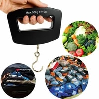 portable spring scale travel luggage scale hanging scale mechanical kitchen and fish fishing scale
