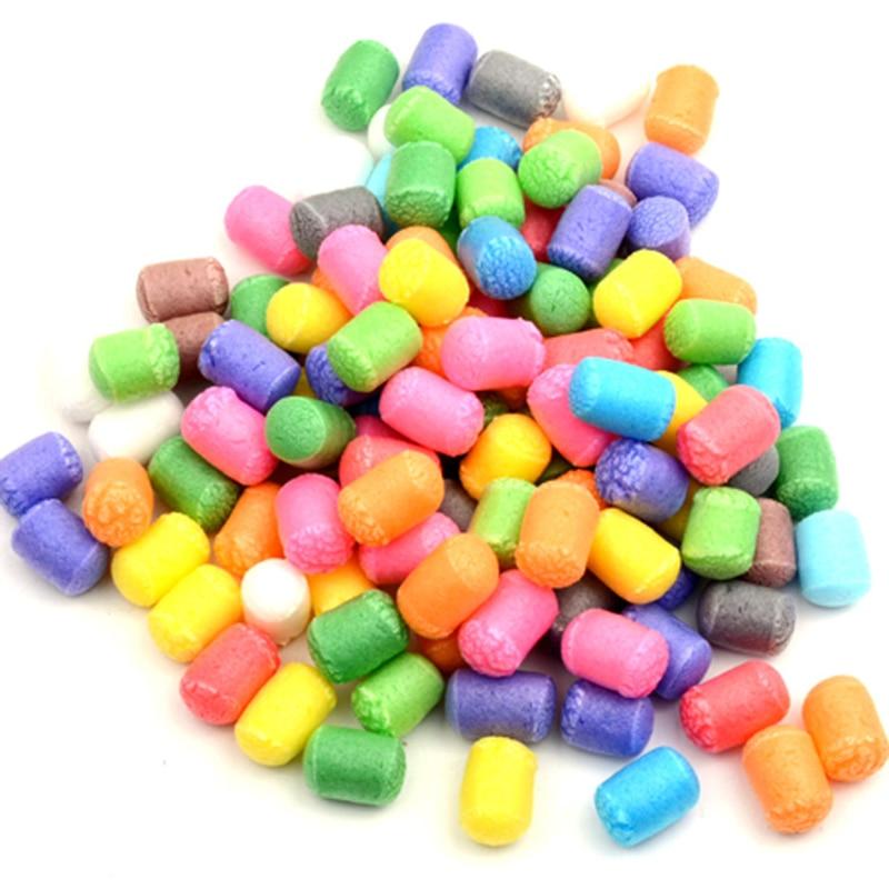 500pcs DIY Crafts Supplies Kids DIY Toys Assembling Grains Fun Building Corns Creative Puzzle Toy Intelligence Training Prop