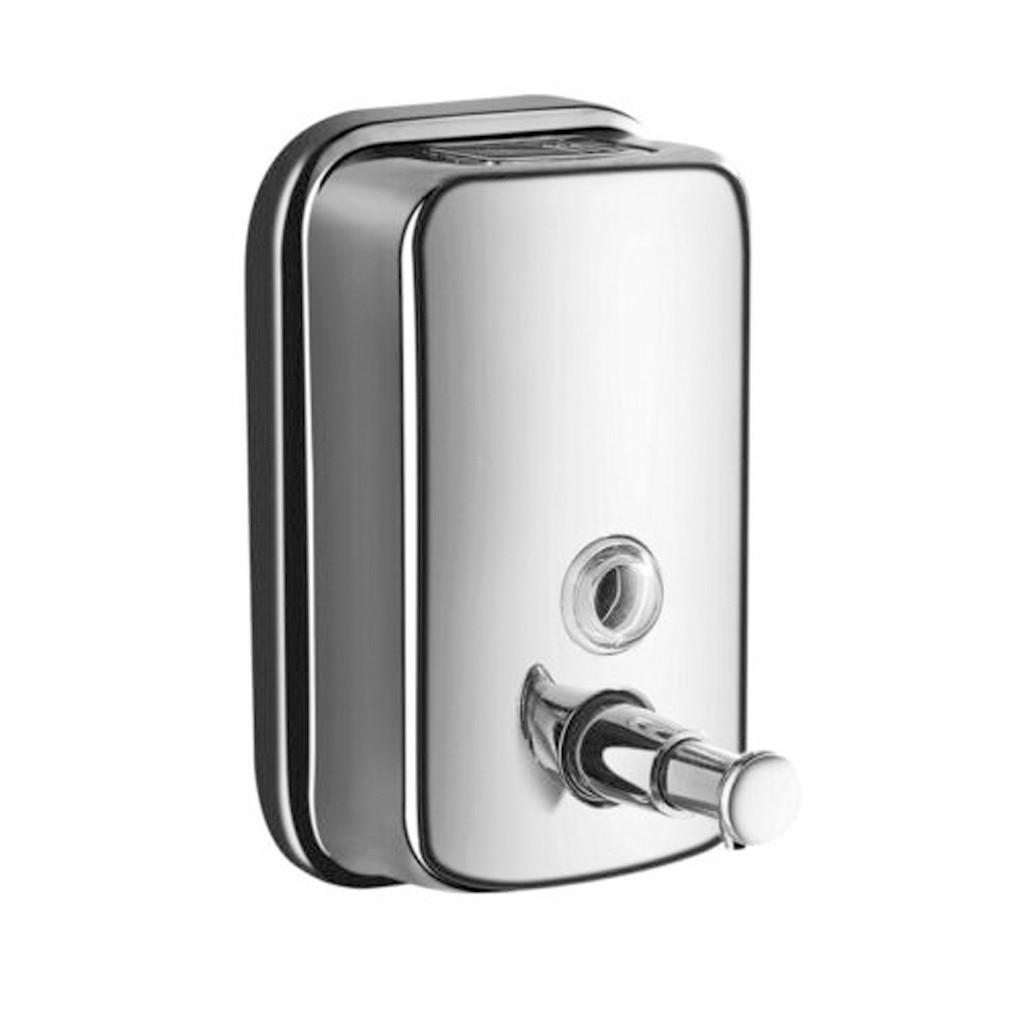 Dispensador De jabón De acero inoxidable montado en la pared, Accesorio De...