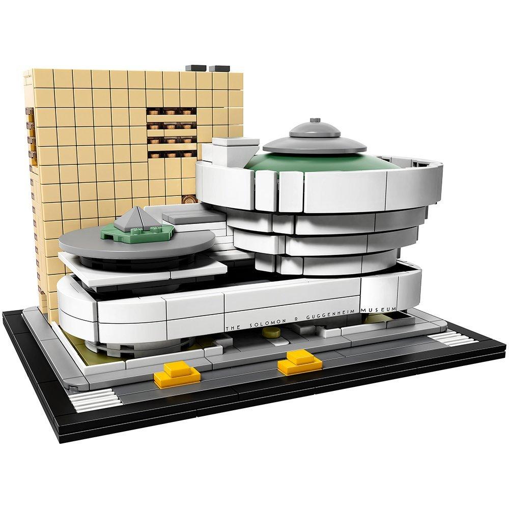 10679 zestaw do budowania architektury Solomon R. Muzeum guggenheima 21035 Model klocki budowlane zabawka