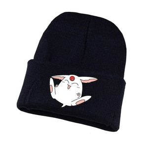 Anime Card Captor Knitted Hat Cosplay Hat Unisex Print Adult Casual Cotton Hat Teenagers Winter Knitted Cap