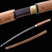Меч Shirisaya, заточенный японский самурайский катана, полный меч Тан тамашигири, полированный нож, стальной меч, украшение дома