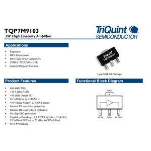 Image 5 - Lusya 400 МГц 4 ГГц 1 Вт усилитель мощности макетная плата TQP7M9103 с теплоотводом Поддержка непрерывной работы A8 013