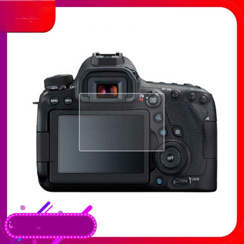 2 pièces caméra LCD protecteur décran couvercle en verre optique pour Canon EOS 6D Mark II 6D2