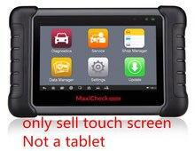 Pour AUTEL MaxiCheck MX808 MX808TS Elite automobile Diagnostic écran tactile panneau numériseur verre capteur remplacement