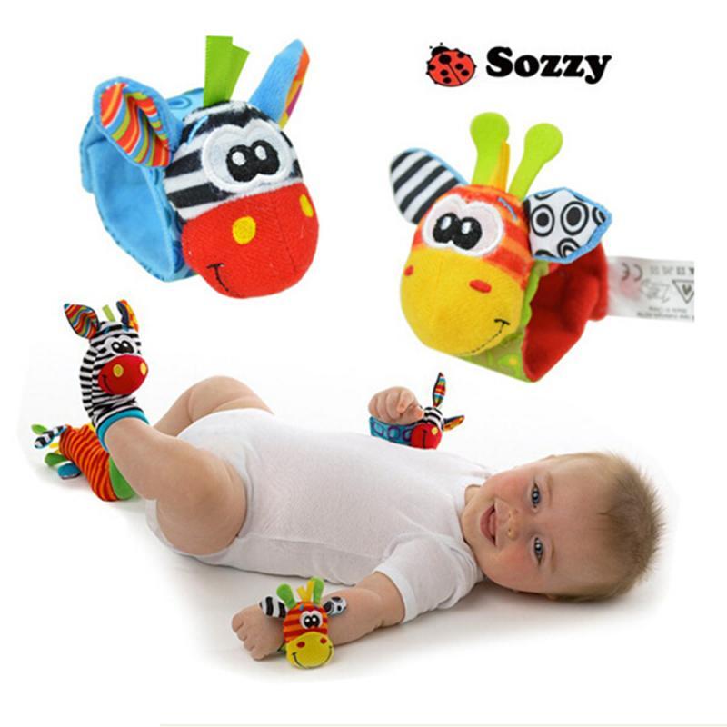 chocalhos para bebes 1 peca estampa de desenho animado com meias fofas para recem nascidos