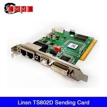 Linsn-carte denvoi TS802D, contrôleur daffichage vidéo synchrone RGB, pour écran mur vidéo LED couleur ou monochrome
