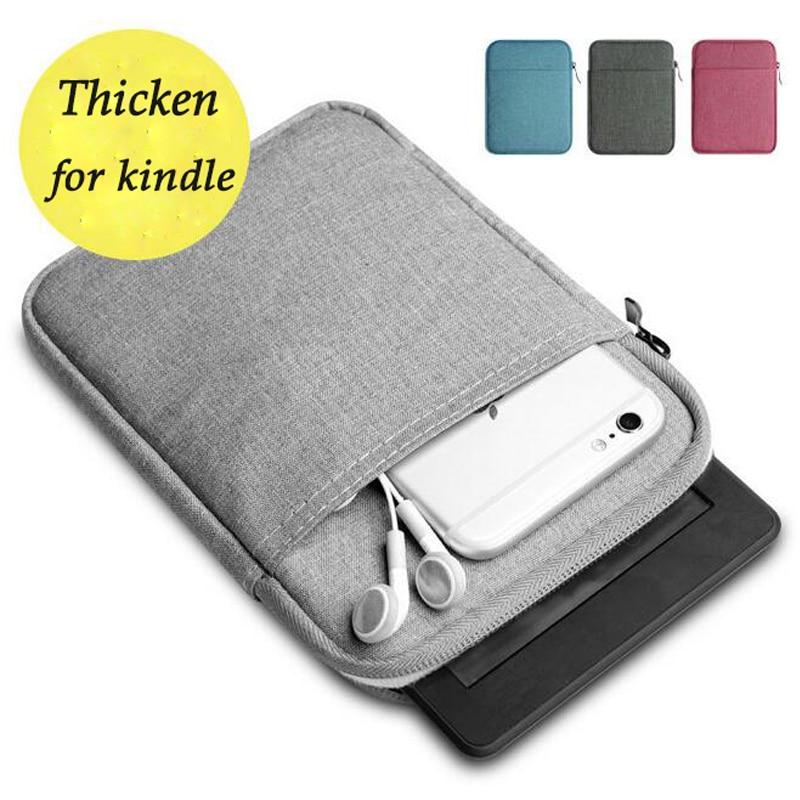 Funda suave para tableta Kindle Paperwhite 2018, funda a prueba de golpes para paperwhite1/2/3, funda protectora Universal para bolsa Kindle 2019