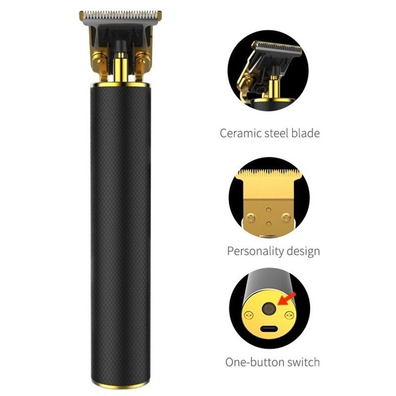 Профессиональный Li T-Outliner/gtx перезаряжаемый триммер для волос, Мужская машинка для стрижки волос, машинка для стрижки волос, машинка для стрижки краев, триммер для бороды