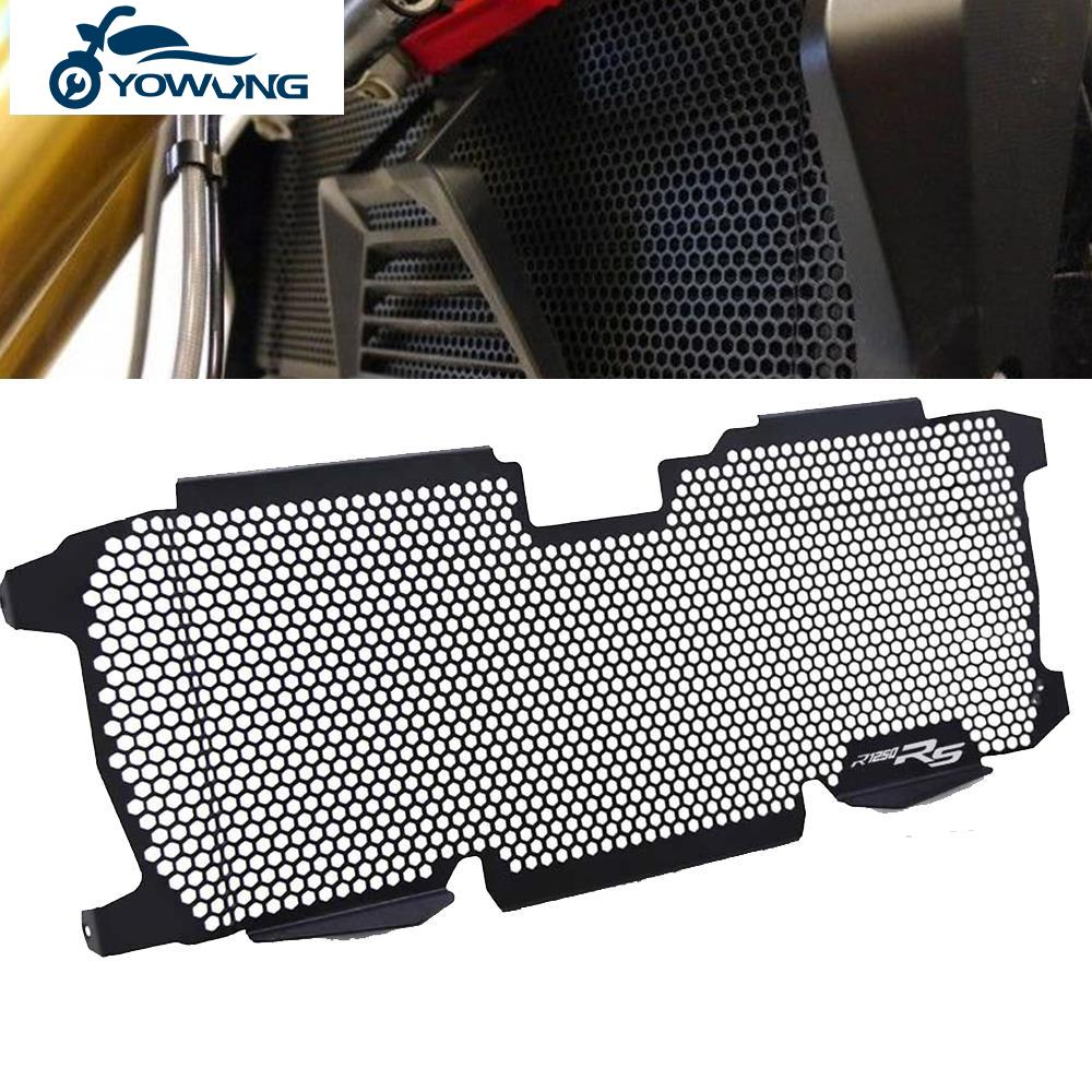 For BMW R 1200 R R 1250 R RS R1200R R1200RS R1250R R1250RS 2018 2019 2020 Motorcycle Radiator Guard Protector Grille Grill Cover for triumph street triple r s rs 2017 2018 2019 2020 streettriple streettriplers radiator grille guard protector cover motorbike