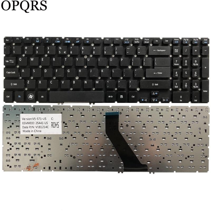 Teclado de ee.uu. para Acer Aspire V5 V5-531, V5-531G V5-551, V5-551G, V5-571, V5-571G, V5-571P, V5-571PG, portátil, en inglés