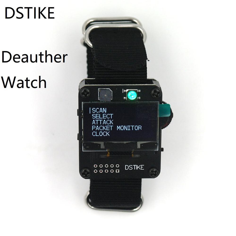 DSTIKE Deauther Watch ESP8266 ESP часы макетная плата Deauther браслет Wifi Deauth