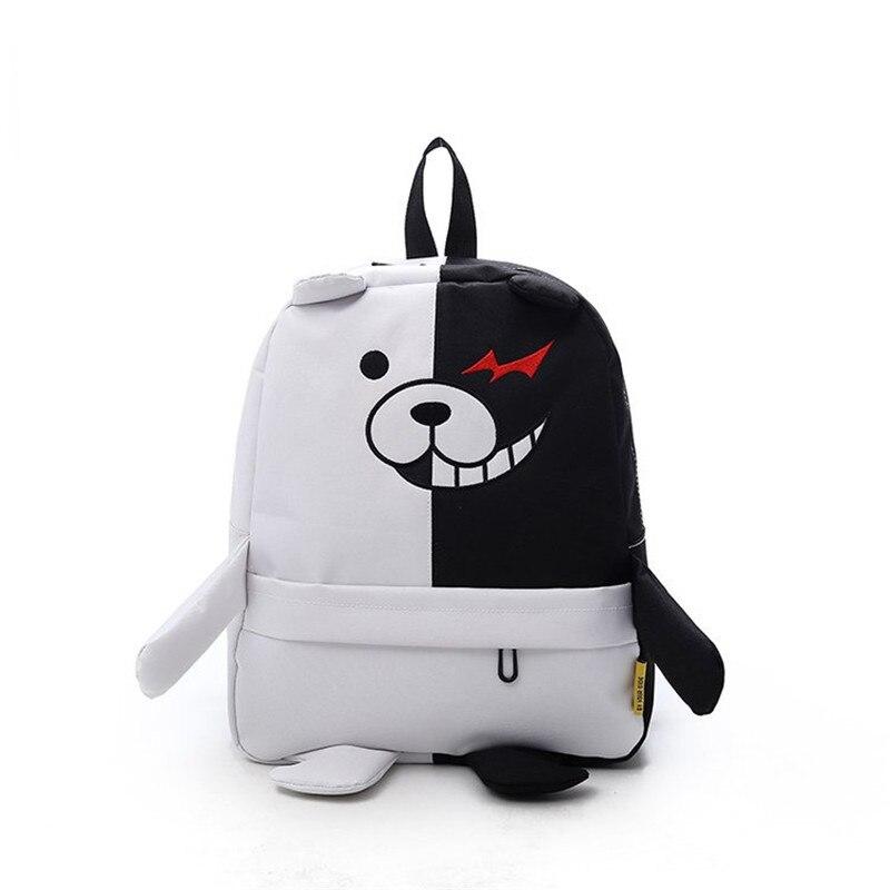 Аниме Danganronpa Dangan Ronpa Monokuma нейлоновый рюкзак большой емкости Студенческая