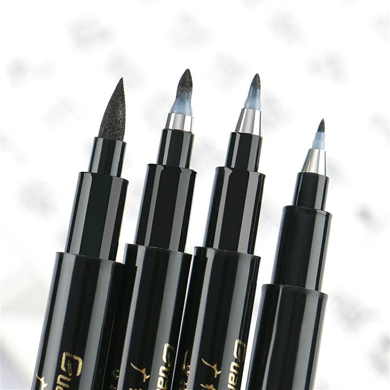 Ручка с кисточкой, каллиграфическая ручка, китайская искусственная Канцелярия, ручка-маркер для рисования, школьные принадлежности, 1 компл...