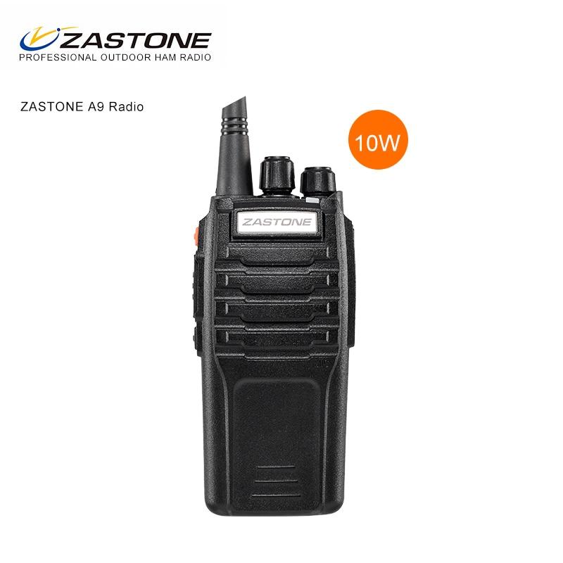 Zastone ZT-A9 10W A Due Vie Radio UHF Or VHF HAM Walkie Talkie CB Two-Tay Radio Ricetrasmettitore Portatile Comunicador