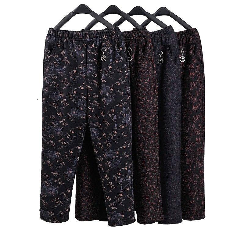 Женские бархатные брюки с высокой талией, теплые прямые брюки размера плюс для осени и зимы