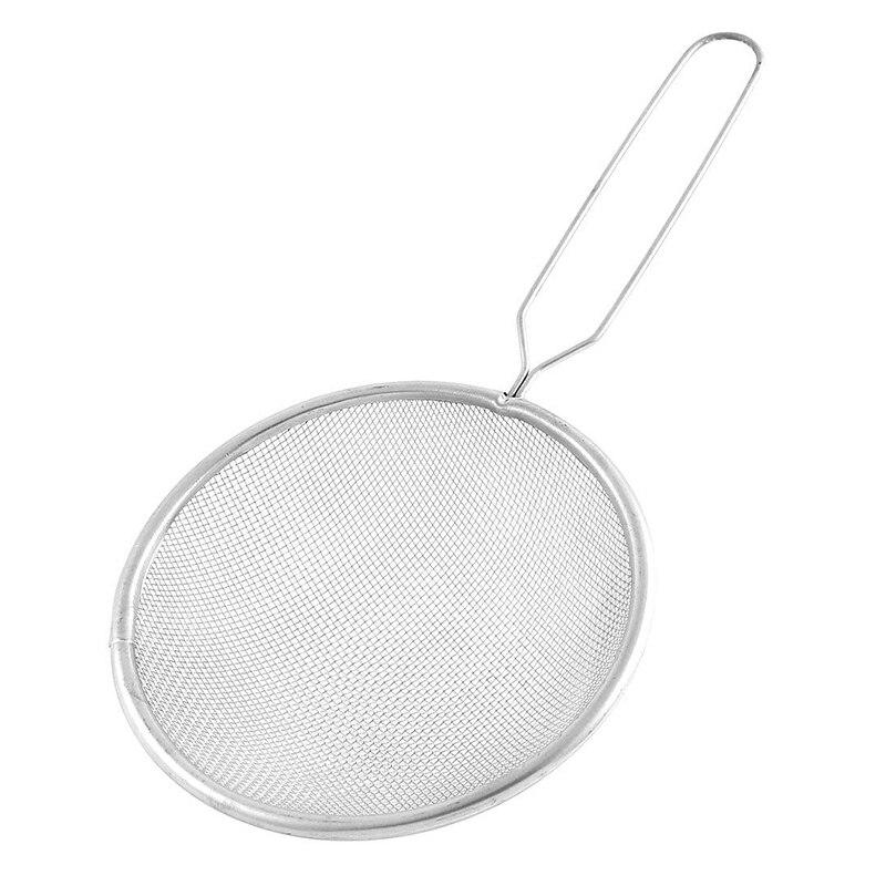 Filtro de malla fina tamiz colador de aceite cuchara 12cm de diámetro