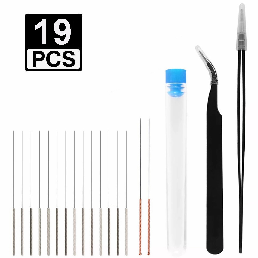 19-pcs-kit-di-pulizia-ugello-stampante-3d-16-pezzi-015-025-035-04mm-detergente-per-aghi-2-pezzi-pinzette-strumento-di-pulizia-ugello-piu-pulito