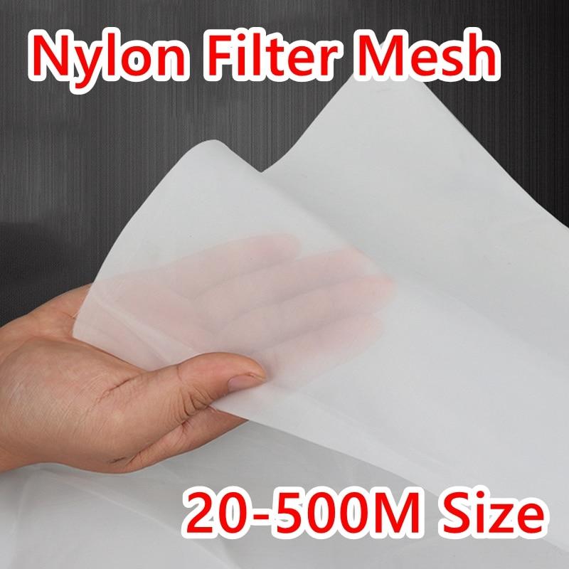 Filtro de nailon de grado alimenticio de 25-830 micras, malla de alambre 20/30/40/100/200/300/400/500, malla tejida, filtro de agua Industrial, piezas de herramientas
