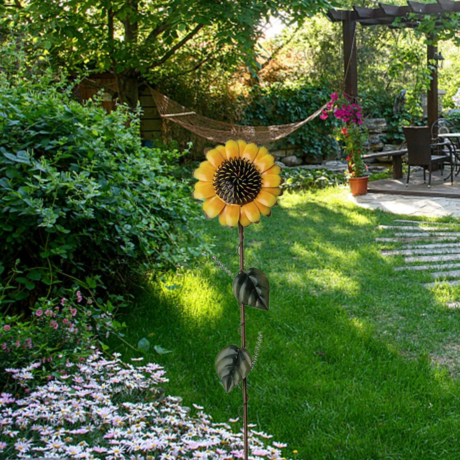 Цветы, садовые стойки, двор, Декор, плантаж, садовый двор, газон, внутренний двор, Декор, 13x54 см