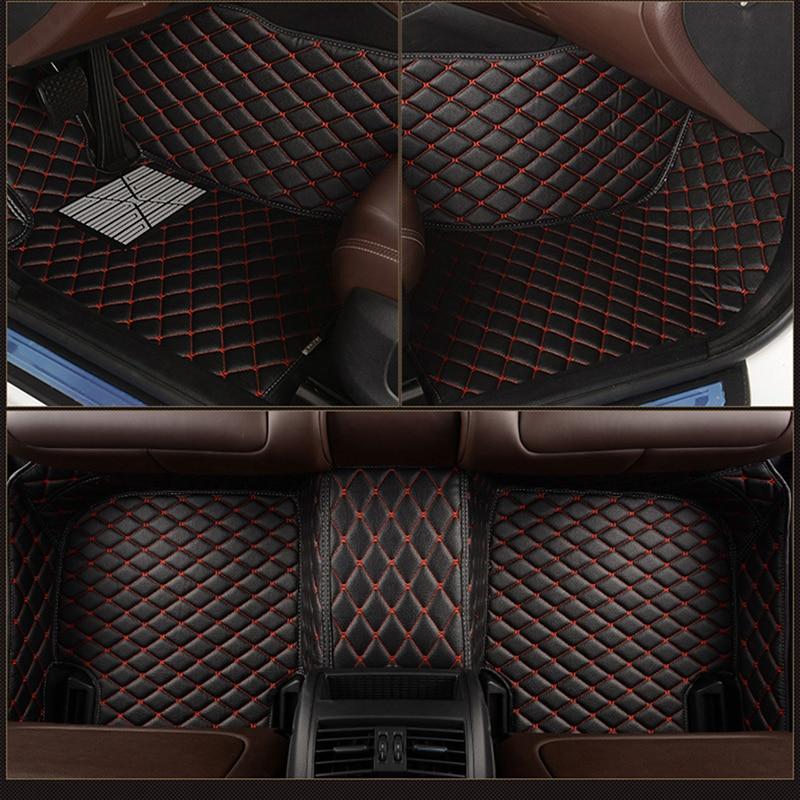 leather Custom car floor mat for Dodge Charger RAM 1500 2500 Dart Journey challenger Grand Caravan carpet car accessories enlarge