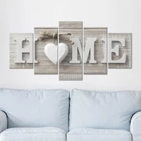 compact 5pcsset charming high clarity eye catching wall decorative oil painting cloth wall draw wear resistant for home