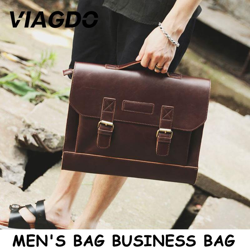 Bolso para hombre, bolsa de trabajo de negocios, bolsas de mensajero, hombre de negocios, vendedor exitoso, Collar blanco 36,5*25 cm PU