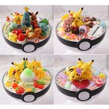 Takara Tomy Pokemon Bal Xy Figuren Pikachu Bulbasaur Mewtwo Handcraft Diy Model Speelgoed Brinquedos Vriendin Kerstcadeaus Doos