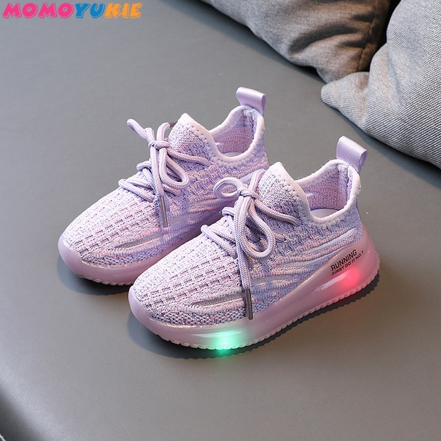 Size 21-30 Children's Led Shoes Boys Girls Lighted Sneakers Glowing Shoes for Kid Sneakers Boys Baby Sneakers with Luminous Sole 8