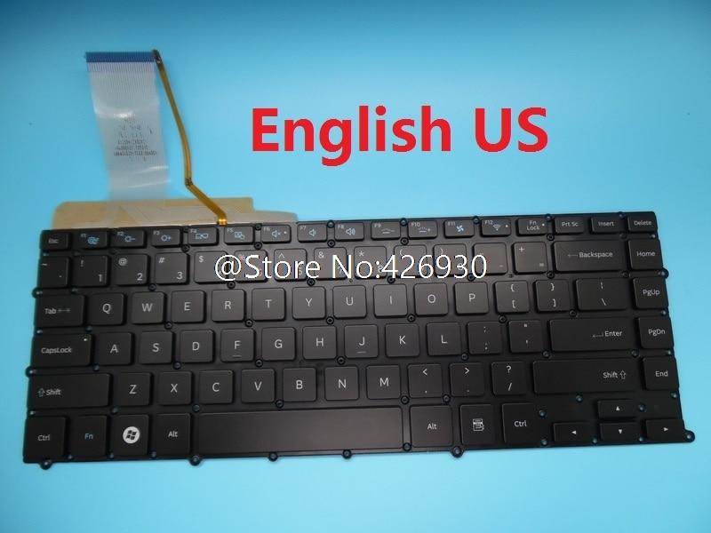 Клавиатура для ноутбука Samsung NP900X4B NP900X4C NP900X4D 900X4B 900X4C 900X4D Бразилия BR Словенский SL Испания SP Канада CA с подсветкой