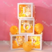 led 5 battery box button copper wire lights string flowers cake decorative lights bob lights birthday party decorations kids