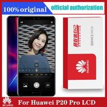 Оригинальный 6,1 ЖК дисплей экран Замена для Huawei P20 Pro ЖК дисплей с сенсорным экраном дигитайзер + отпечатков пальцев CLT L09 CLT L29 CLT AL01