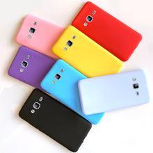 Funda para Samsung Galaxy J3 J5 J7 2016 2017 J5 J2 primer J7 núcleo Neo Nxt J701 Caramelo Suave mate TPU de silicona funda trasera del teléfono casos