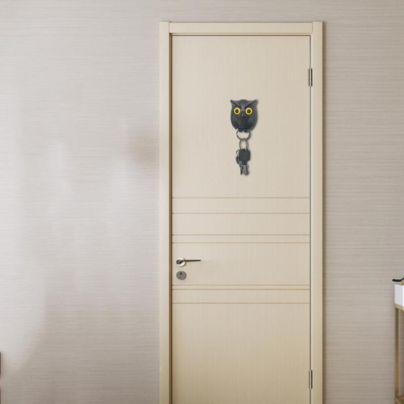 1vnt. Juodos, baltos ir rudos spalvos naktinė pelėda, magnetinis - Organizavimas ir saugojimas namuose - Nuotrauka 4