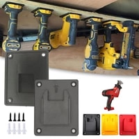 machine holder wall mount storage bracket fixing devices electric tool battery tools for milwaukee m18 18v dewalt