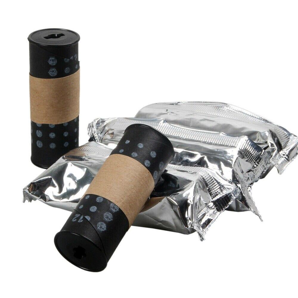 5 unids/lote enrollado a mano Lucky 220 Roll Film ISO 200 blanco y negro B & W negativo 11-2021