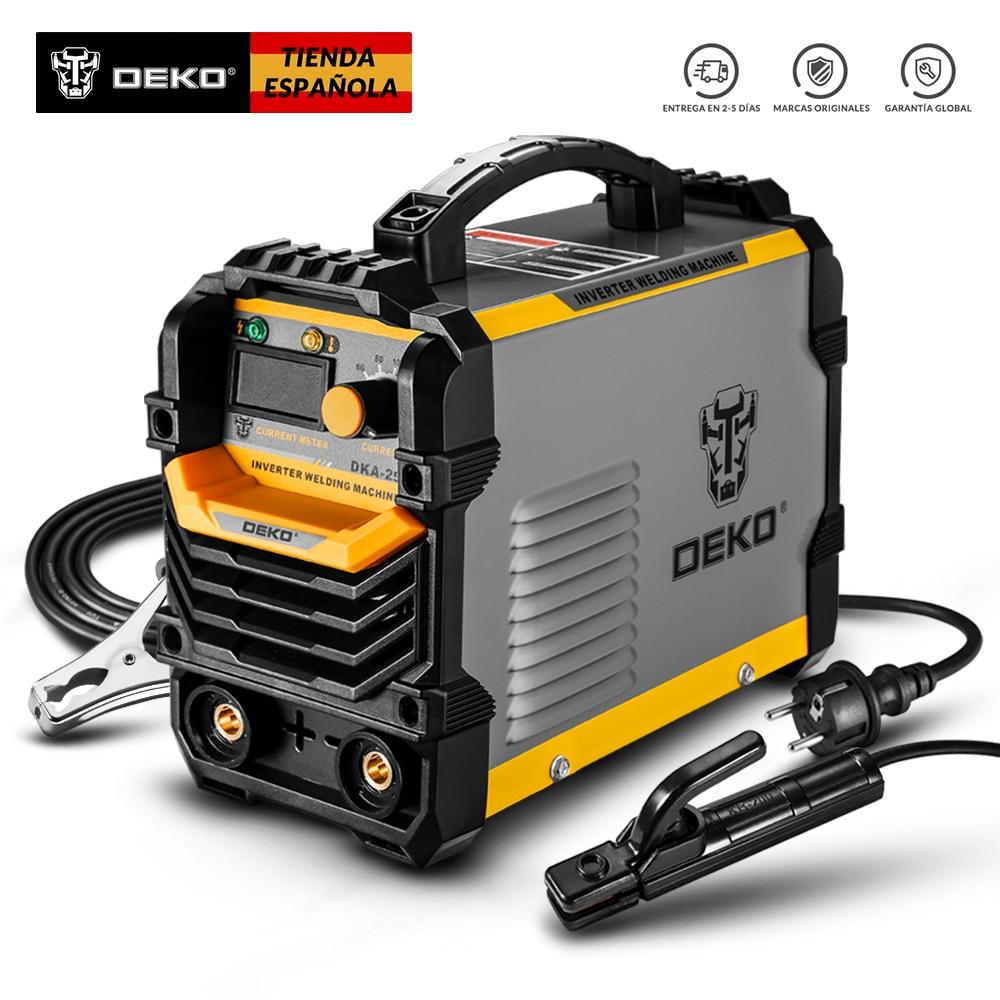 DEKO DKA Series Reverse Electric Welding 220V IGBT MMA 200/250/160 Inverter Welder for DIY, Electric Work