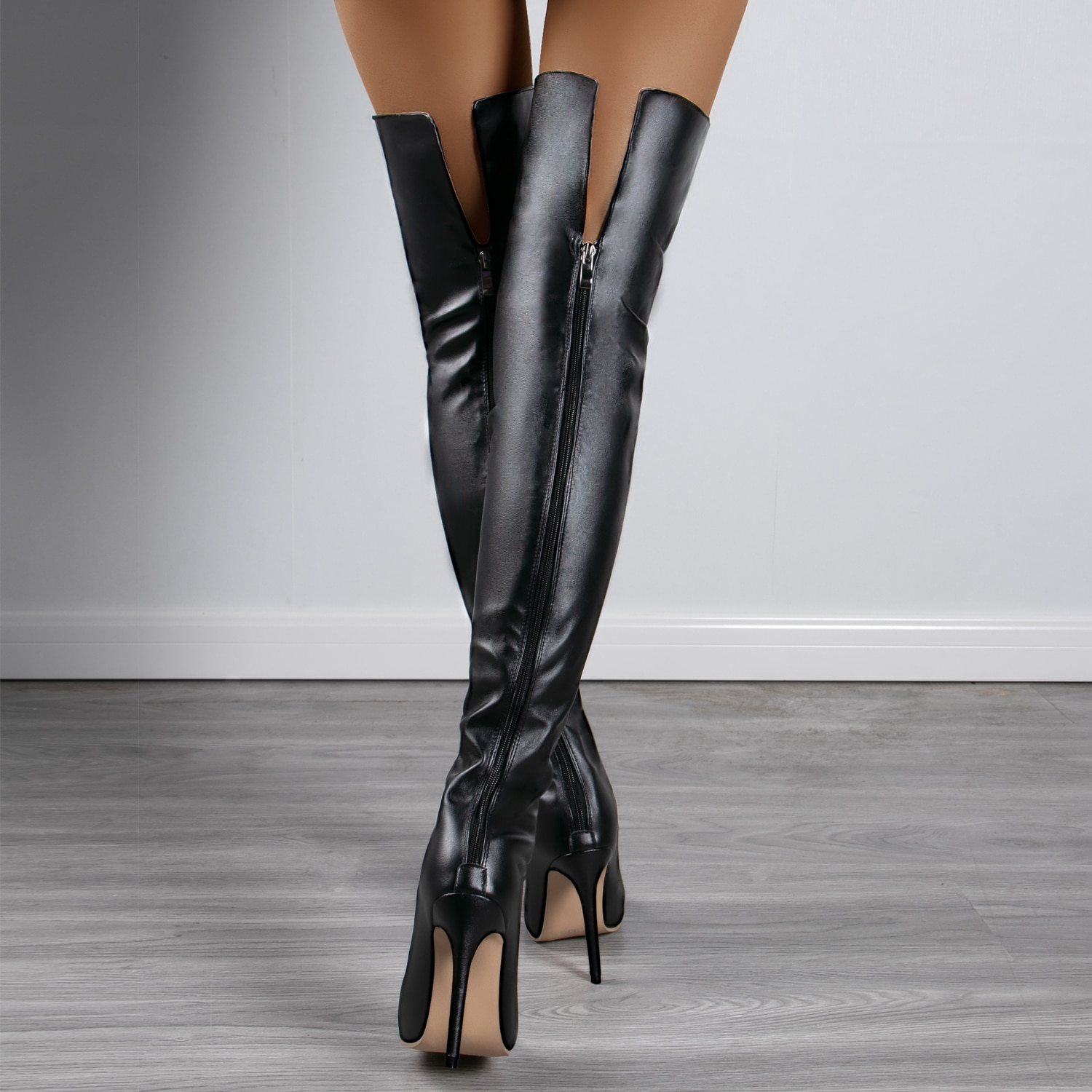 AliExpress - Women Sexy Over The Knee Women's Pointed ToeThigh Long Boots Girls Heels Bootie Autumn Winter Stretch Botas