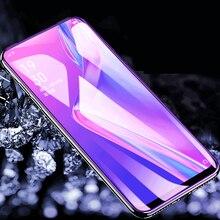 Anti azul de vidrio templado para Xiaomi Redmi Nota 7 8 9 Pro 9 Nota 9 8 8T 7 Pro 8A 7A K20 Pro K30 5G Anti-huella digital de vidrio