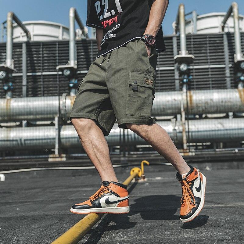 Новые трендовые мужские шорты-карго 2020, летние мужские уличные повседневные шорты для бега, повседневные тактические шорты длиной до колена, M-3XL