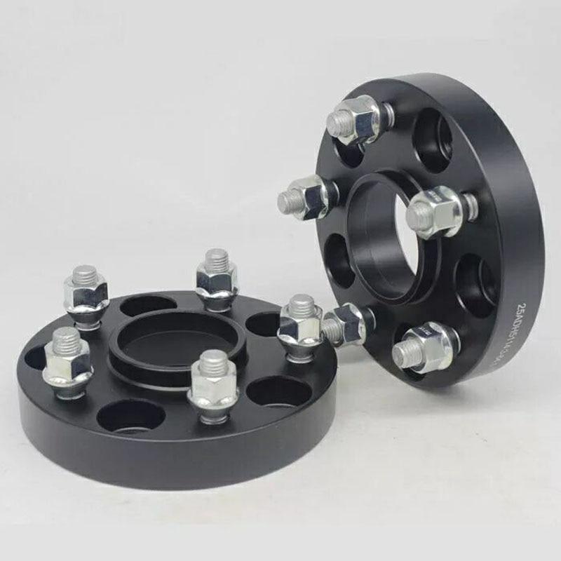 Espaciadores de rueda de aluminio para automóvil, adaptador separador de rueda para...