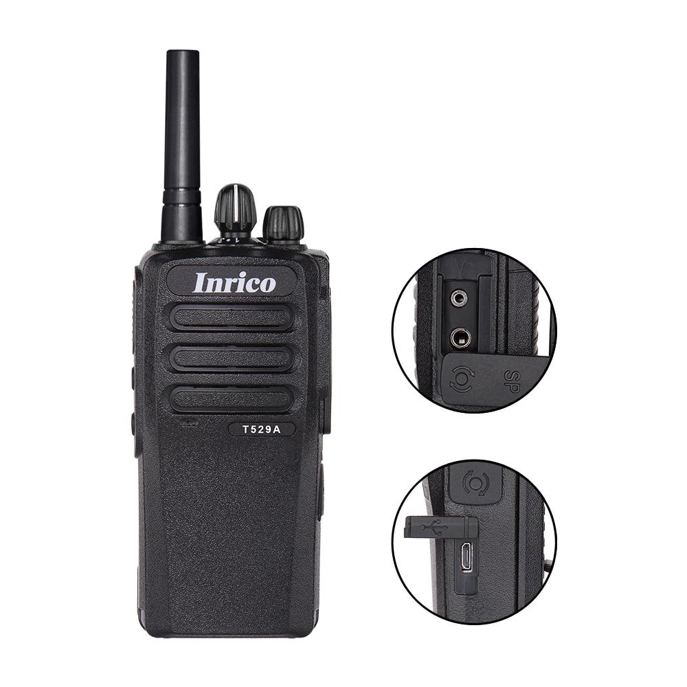 Camoro Poc 4G Network Walkie Talkie Radio with BT Wifi Gps NFC Android Mobile Radio Inrico T529A Long Range Mini Walkie Talkie enlarge