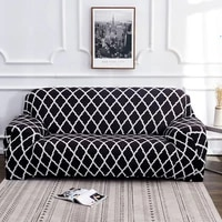 printed sofa covers for living room elastic stretch slipcover sectional corner chair cover sofa towel home decor 1234 seat
